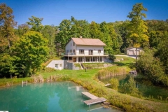 Lake Leelanau Retreat House Ponds