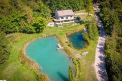 Lake Leelanau Retreat House Aerial View