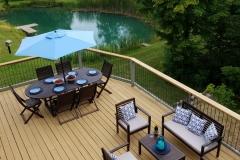 Deck-Dining-Louge-Grill-Lake-Leelanau-Retreat-House