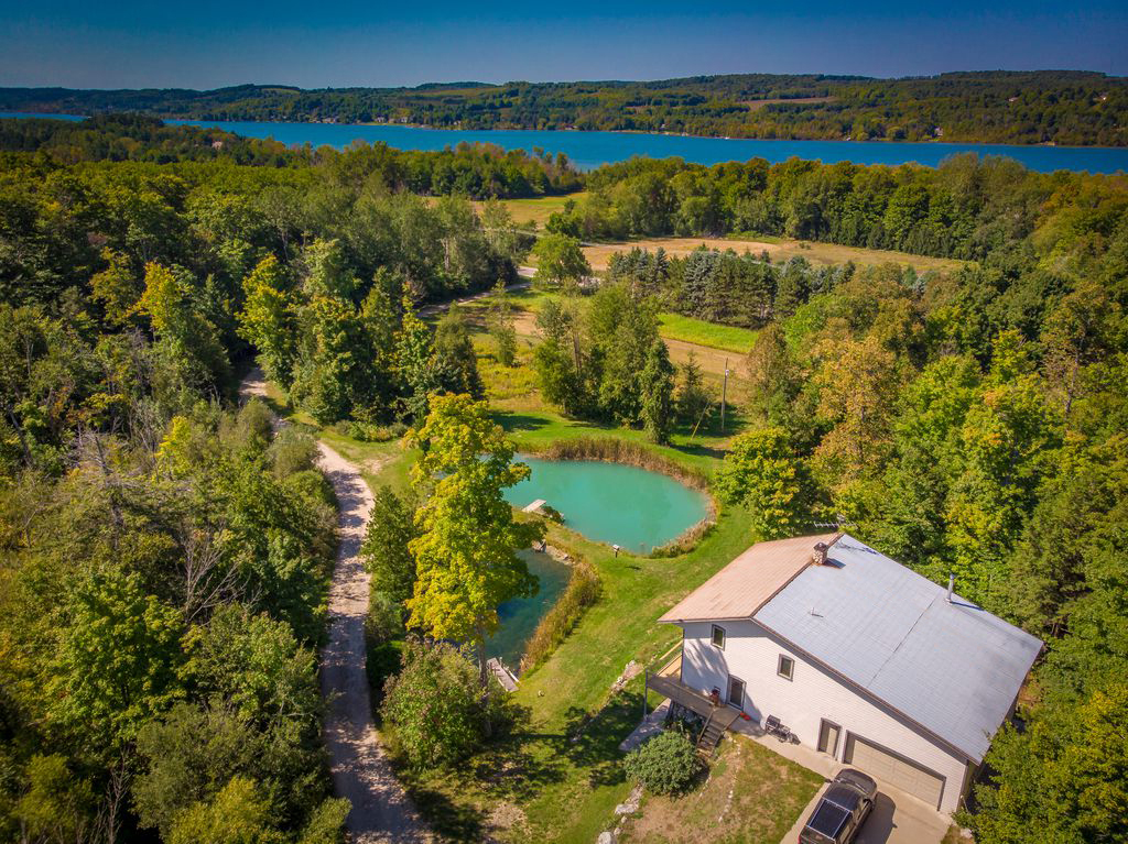 Lake Leelanau Retreat House Property